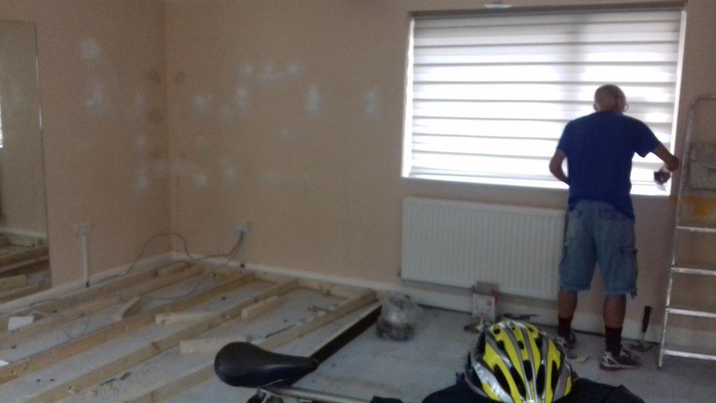 Improvements to the small gym at Horsforth Health Hub