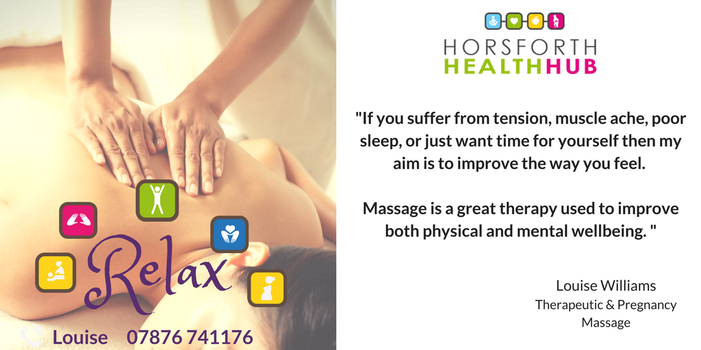 Therapeutic Massage at Horsforth Health Hub!